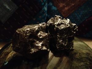 Pair of Meteorites
