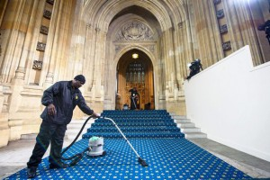 Cleaning Up Westminster Palace