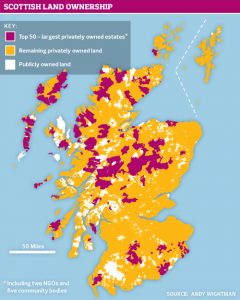 Scotland according to the Guardian