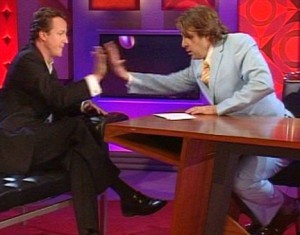 David Cameron Jonathan Ross