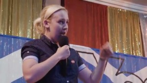 Mhairi Black Rap Battle